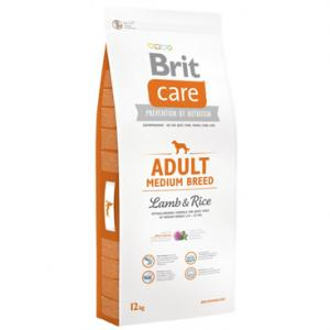 BRIT CARE ADULT MEDIUM BREED LAMB RICE 12KG